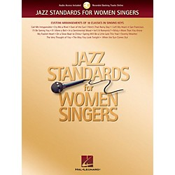 Hal Leonard Jazz Standards For Women Singers Book/CD (740181)