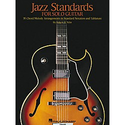 Hal Leonard Jazz Standards for Solo Guitar Tab Book (699277)