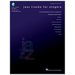 Hal Leonard Jazz Tracks For Singers - Women's Edition Book/CD (740242)