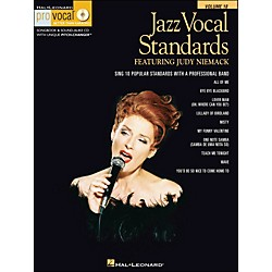 Hal Leonard Jazz Vocal Standards - Pro Vocal Series Featuring Judy Niemack Volume 18 Book/CD (740376)