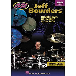 Hal Leonard Jeff Bowders - Double Bass Drumming Workshop DVD (695869)