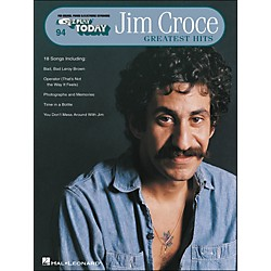 Hal Leonard Jim Croce Greatest Hits E-Z Play 94 (100139)