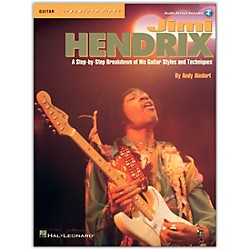 Hal Leonard Jimi Hendrix - Signature Licks Guitar Tab Songbook with CD (696560)