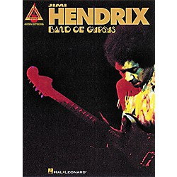 Hal Leonard Jimi Hendrix Band of Gypsys Guitar Tab Songbook (690304)