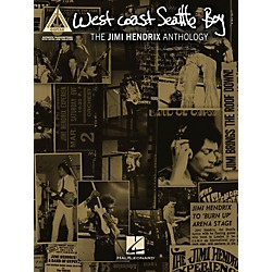Hal Leonard Jimi Hendrix West Coast Seattle Boy: The Jimi Hendrix Anthology Guitar Tab Songbook (691152)