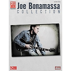 Hal Leonard Joe Bonamassa Collection Guitar Tab Songbook (2501510)