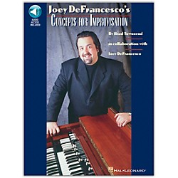 Hal Leonard Joey DeFrancesco's Concepts For Improvisation Book/CD (220010)