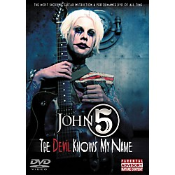Hal Leonard John 5 - The Devil Knows My Name DVD (320554)