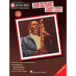 Hal Leonard John Coltrane Giant Steps - Jazz Play-Along Volume 149 Book/CD (843234)