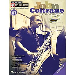 Hal Leonard John Coltrane Standards - Jazz Play-Along Volume 163 Book/CD (843235)