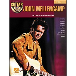 Hal Leonard John Mellencamp - Guitar Play-Along Volume 111 (Book/CD) (701056)