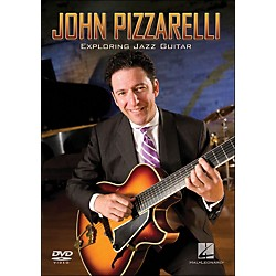 Hal Leonard John Pizzarelli - Exploring Jazz Guitar Instructional (DVD) (320704)