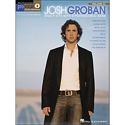 Hal Leonard Josh Groban - Pro Vocal Series For Male Singers Volume 33 Book/CD (740371)