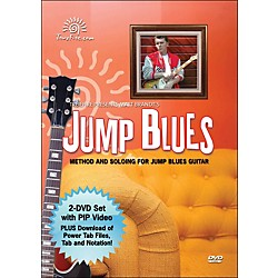 Hal Leonard Jump Blues - Instructional Guitar 2-DVD Pack Featuring Matt Brandt (320851)