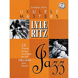 Hal Leonard Jumpin' Jim's Ukulele Masters: Lyle Ritz (Book/CD) (695609)