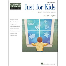Hal Leonard Just For Kids  -Eight Fun Piano Solos -Composer Showcase Elementary Level (296840)