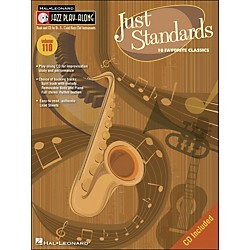 Hal Leonard Just Standards Jazz Play- Along Volume 110 CD/Pkg (843161)