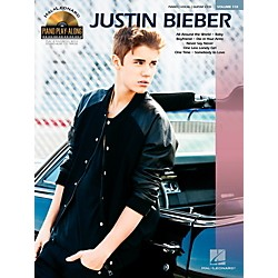 Hal Leonard Justin Bieber - Piano Play-Along Volume 110 Book/CD (109367)