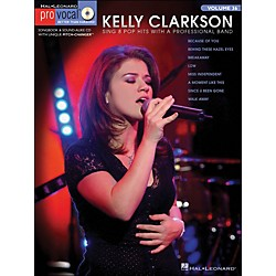 Hal Leonard Kelly Clarkson - Pro Vocal Series Book/CD Volume 15 (740377)