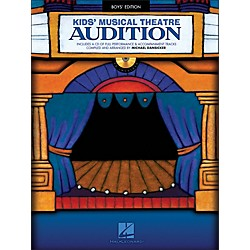Hal Leonard Kid's Musical Theatre Audition - Boys Edition Book/CD (1125)
