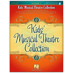 Hal Leonard Kids' Musical Theatre Collection Volume 1 Book/CD (230029)
