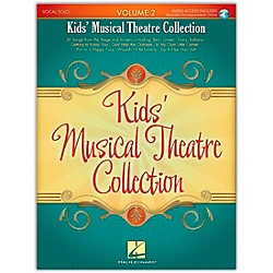 Hal Leonard Kids' Musical Theatre Collection Volume 2 Book/CD (230031)