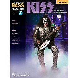 Hal Leonard Kiss - Bass Play-Along Volume 27 Book/CD (701181)