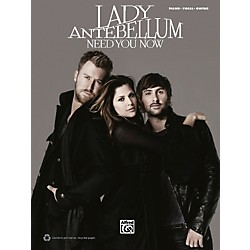 Hal Leonard Lady Antebellum Need You Now PVC Book (701630)