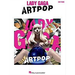 Hal Leonard Lady Gaga - Artpop for Easy Piano (124849)