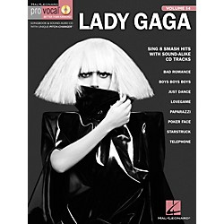 Hal Leonard Lady Gaga - Pro Vocal Women's Edition, Volume 54 Songbook (740438)