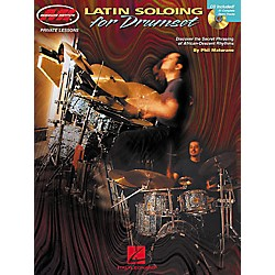 Hal Leonard Latin Soloing for Drumset Book/CD (695287)