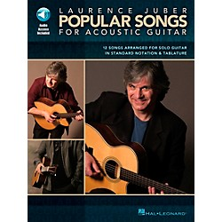 Hal Leonard Laurence Juber Popular Songs for Acoustic Guitar Book with CD (700180)