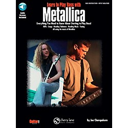 Hal Leonard Learn to Play Bass with Metallica Book/CD (2500189)