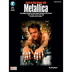 Hal Leonard Learn to Play Drums with Metallica Book/CD (2500190)