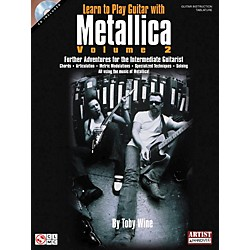 Hal Leonard Learn to Play Guitar with Metallica Volume 2 Book with CD (2500885)