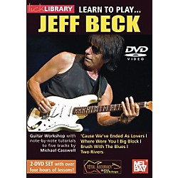 Hal Leonard Learn to Play Jeff Beck 2 DVD Set (393125)