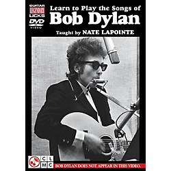 Hal Leonard Learn to Play The Songs of Bob Dylan - Guitar Legendary Licks DVD (2500918)