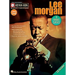 Hal Leonard Lee Morgan - Jazz Play-Along Volume 144 Book/CD (843229)