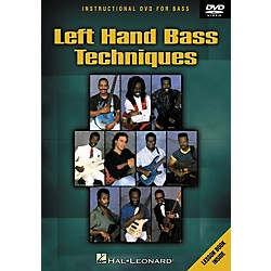 Hal Leonard Left Hand Bass Techniques (DVD) (320487)