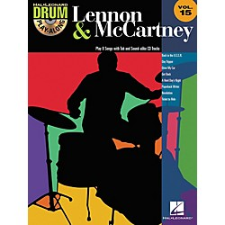 Hal Leonard Lennon & McCartney - Drum Play-Along Volume 15 (CD/Booklet) (700271)