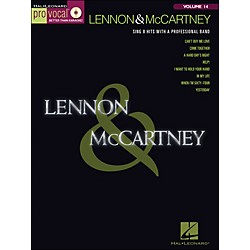 Hal Leonard Lennon & McCartney - Pro Vocal Songbook & CD Volume 14 (740334)