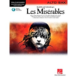 Hal Leonard Les Miserables For Alto Sax - Instrumental Play-Along Book/CD (842294)