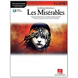 Hal Leonard Les Miserables For Flute - Instrumental Play-Along CD/Pkg (842292)
