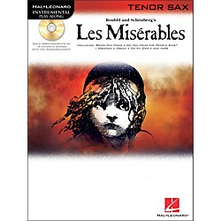 Hal Leonard Les Miserables For Tenor Sax - Instrumental Play-Along Book/CD (842295)