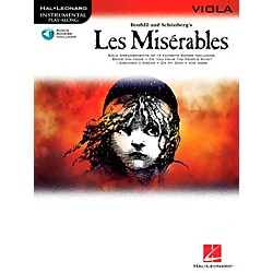 Hal Leonard Les Miserables For Viola - Instrumental Play-Along Book/CD (842300)