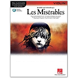 Hal Leonard Les Miserables For Violin - Instrumental Play-Along Book/CD (842299)