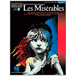 Hal Leonard Les Miserables Volume 24 Book/CD Piano Play-Along arranged for piano, vocal, and guitar (P/V/G) (311169)
