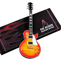 Hal Leonard Les Paul Sunburst Miniature Guitar Replica Collectible (124297)