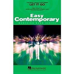 Hal Leonard Let It Go (From Frozen) Easy Contemporary Marching Band Level 2 (3745822)