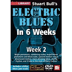 Hal Leonard Lick Library Stuart Bull's Electric Blues in 6 Weeks DVD Guitar Course (393139)
